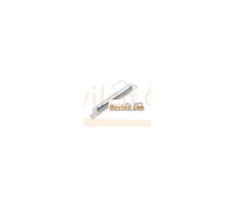 Tecla de Volumen Blanco para Sony Xperia S, LT26I - Imagen 1