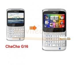 Cambiar la pantalla tactil (cristal) de Htc ChaCha G16 - Imagen 1