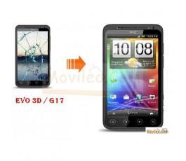 CAMBIAR PANTALLA TACTIL HTC EVO 3D G17 - Imagen 1