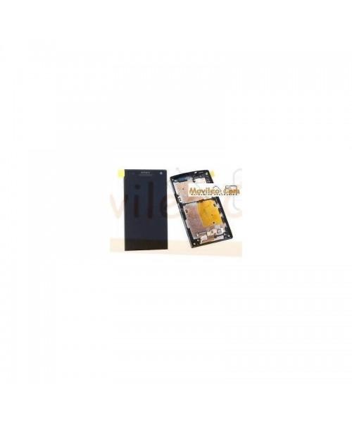 Pantalla Completa Negra Con Marco Sony Xperia S , Lt26i - Imagen 1