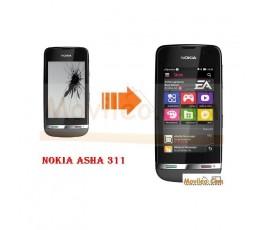 CAMBIAR PANTALLA LCD NOKIA ASHA 311 - Imagen 1