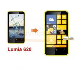 Cambiar Pantalla Tactil (cristal) Nokia Lumia 620 - Imagen 1