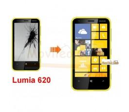 Cambiar Pantalla LCD (display) Nokia Lumia 620 - Imagen 1