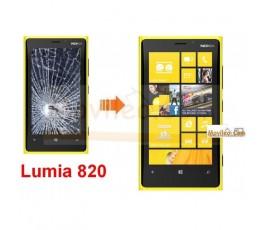 Cambiar Pantalla Completa  (lcd+tactil) Nokia Lumia 820 - Imagen 1