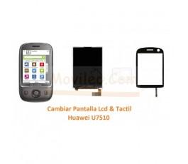 Cambiar Pantalla Tactil y Lcd Huawei U7510 - Imagen 1