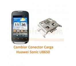 Cambiar Conector Carga Huawei Sonic U8650 - Imagen 1