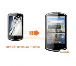 CAMBIAR PANTALLA LCD HUAWEI IDEOS X5 / U8800 - Imagen 1