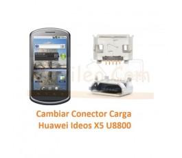 Cambiar Conector Carga Huawei U8800 Ideos X5 - Imagen 1