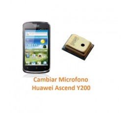 Cambiar Microfono Huawei Ascend Y200 - Imagen 1