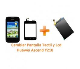 Cambiar Pantalla Táctil y Lcd Huawei Ascend Y210 - Imagen 1