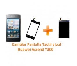 Cambiar Pantalla Táctil y Lcd para Huawei Ascend Y300 - Imagen 1