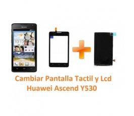 Cambiar Pantalla Táctil Cristal y Lcd Huawei Ascend Y530 - Imagen 1