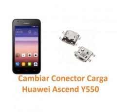 Cambiar Conector Carga Huawei Ascend Y550 - Imagen 1