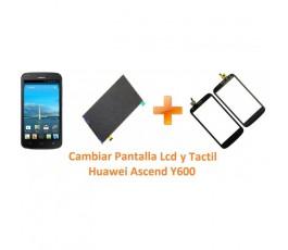 Cambiar Pantalla Táctil Cristal y Lcd Huawei Ascend Y600 - Imagen 1
