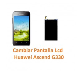 Cambiar Pantalla Lcd Huawei Ascend G330 - Imagen 1
