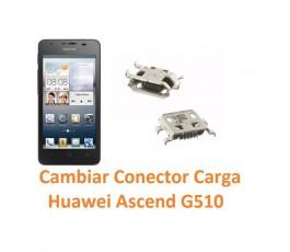 Cambiar Conector Carga Huawei Ascend G510 Orange Daytona - Imagen 1