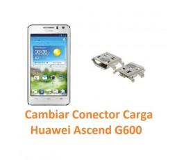 Cambiar Conector Carga Huawei Ascend G600 - Imagen 1