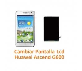 Cambiar Pantalla Lcd Huawei Ascend G600 - Imagen 1
