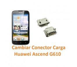 Cambiar Conector Carga Huawei Ascend G610 - Imagen 1