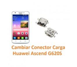 Cambiar Conector Carga Huawei Ascend G620S - Imagen 1