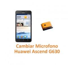 Cambiar Micrófono Huawei Ascend G630 - Imagen 1