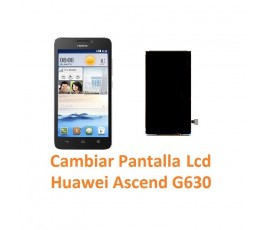 Cambiar Pantalla Lcd Huawei Ascend G630 - Imagen 1