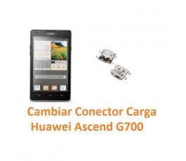 Cambiar Conector Carga Huawei Ascend G700 - Imagen 1