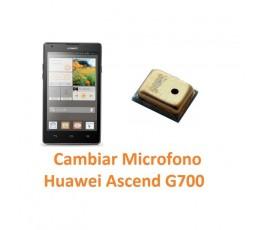 Cambiar Micrófono Huawei Ascend G700 - Imagen 1