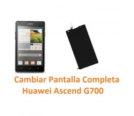 Cambiar Pantalla Completa Huawei Ascend G700 - Imagen 1