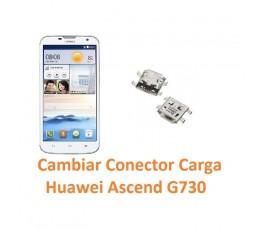 Cambiar Conector Carga Huawei Ascend G730 - Imagen 1