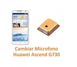 Cambiar Micrófono Huawei Ascend G730 - Imagen 1