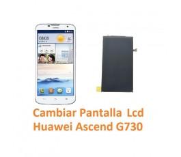 Cambiar Pantalla Lcd Huawei Ascend G730 - Imagen 1