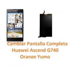 Cambiar Pantalla Completa Huawei Ascend G740 Orange Yumo - Imagen 1
