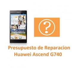 Presupuesto de Reparación Huawei Ascend G740 Orange Yumo - Imagen 1
