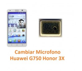 Cambiar Micrófono Huawei Ascend G750 Honor 3X - Imagen 1