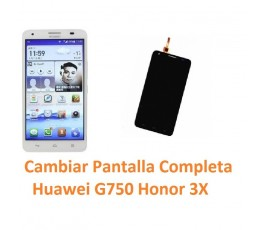 Cambiar Pantalla Completa Huawei Ascend G750 Honor 3X - Imagen 1