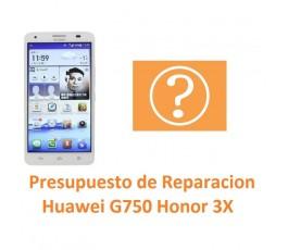 Presupuesto de Reparación Huawei Ascend G750 Honor 3X - Imagen 1