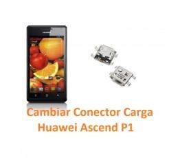 Cambiar Conector Carga Huawei Ascend P1 - Imagen 1