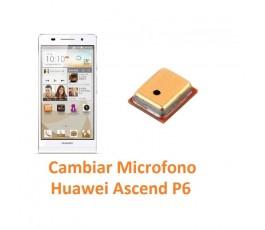 Cambiar Micrófono Huawei Ascend P6 - Imagen 1