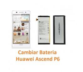 Cambiar Batería Huawei Ascend P6 - Imagen 1
