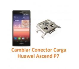 Cambiar Conector Carga Huawei Ascend P7 - Imagen 1