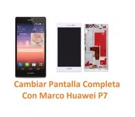 Cambiar Pantalla Completa Con Marco Huawei Ascend P7 - Imagen 1