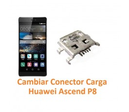 Cambiar Conector Carga Huawei Ascend P8 - Imagen 1