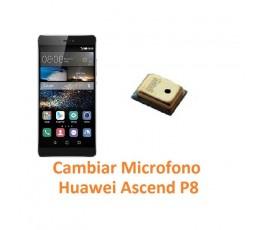 Cambiar Micrófono Huawei Ascend P8 - Imagen 1