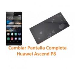 Cambiar Pantalla Completa Huawei Ascend P8 - Imagen 1
