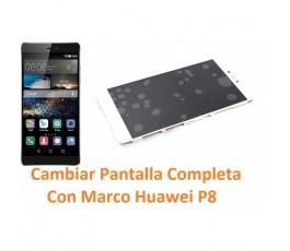 Cambiar Pantalla Completa Con Marco Huawei Ascend P8 - Imagen 1
