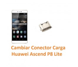 Cambiar Conector Carga Huawei Ascend P8 Lite - Imagen 1