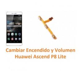 Cambiar Encendido y Volumen Huawei Ascend P8 Lite - Imagen 1
