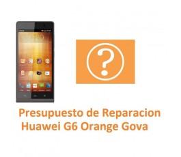 Presupuesto de Reparación Huawei Ascend G6 Orange Gova - Imagen 1