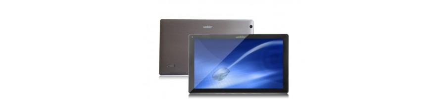Repuestos pantalla lcd display tactil bateria  Tablet Wolder MiTab Think